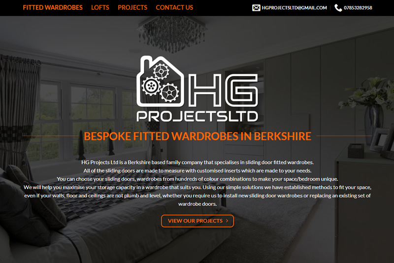 Website Design By PHD - HG Projects Ltd